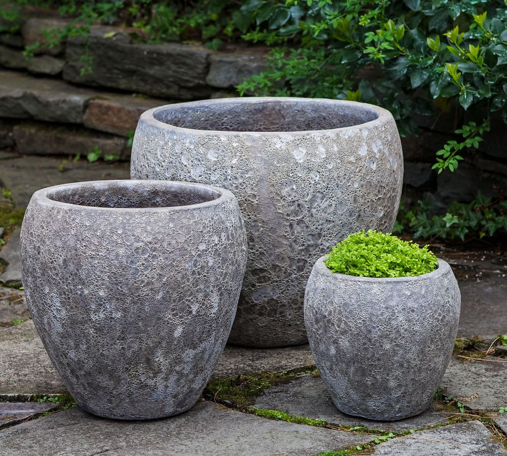 Sturdy and Masculine Planters for Indoors or Out