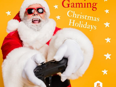 Happy Gaming Christmas Holidays 🎄