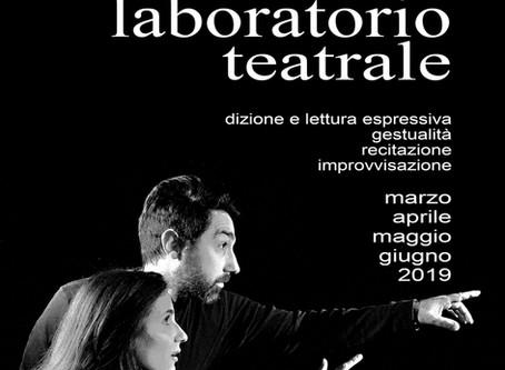 LABORATORIO TEATRALE 2019