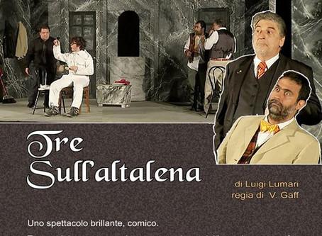 """Teatro Del Corvo """"TRE SULL' ALTALENA"""""""