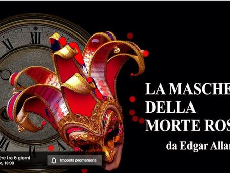 La Maschera della Morte Rossa - Prototeatro legge Edgar Allan Poe