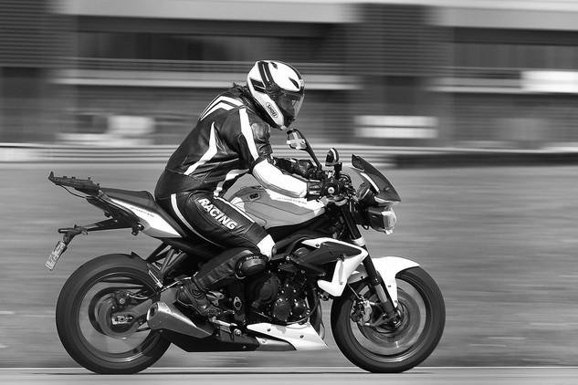 Vitsse en moto