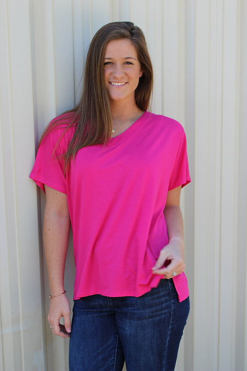 The Classic V-Neck Top