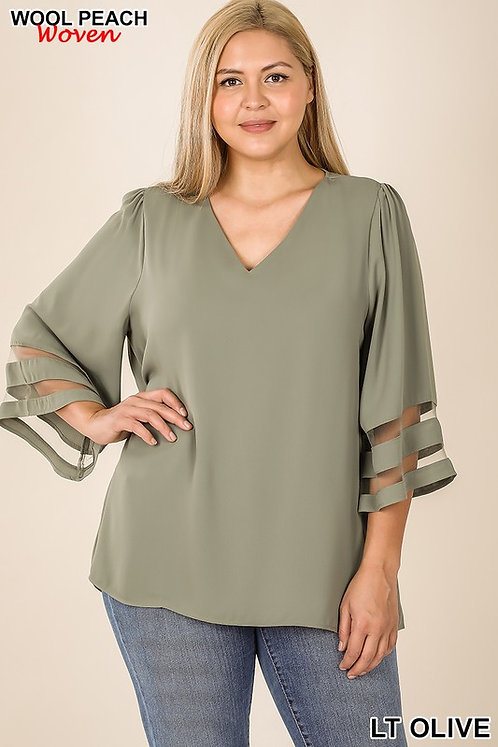 The Olivia Top Plus Size