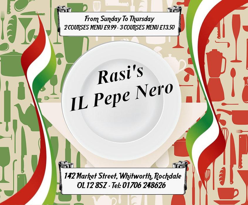Ras's IL Pepe Nero