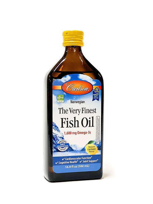 Fish Oil (Lemon Flavor)