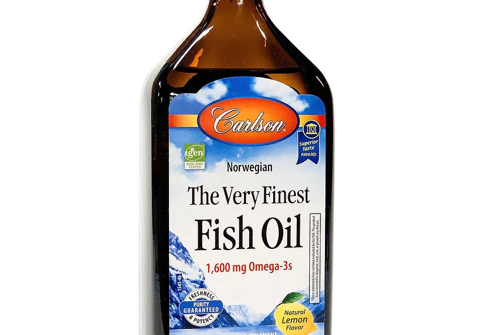 Fish Oil (Lemon Flavor)