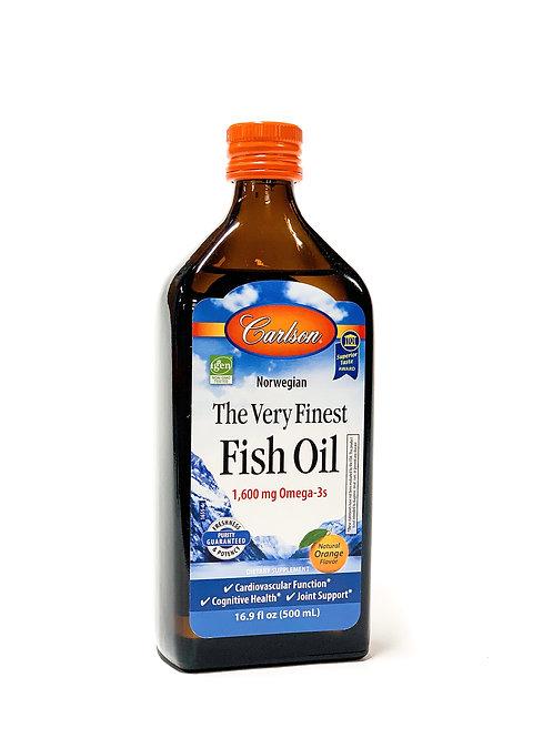 Fish Oil (Orange Flavor)