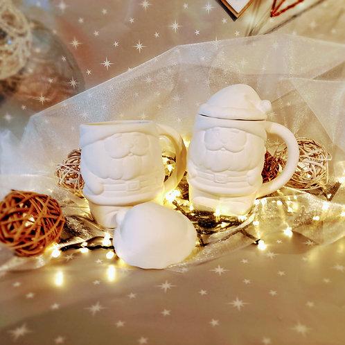 Father Christmas Mug with removable Hat