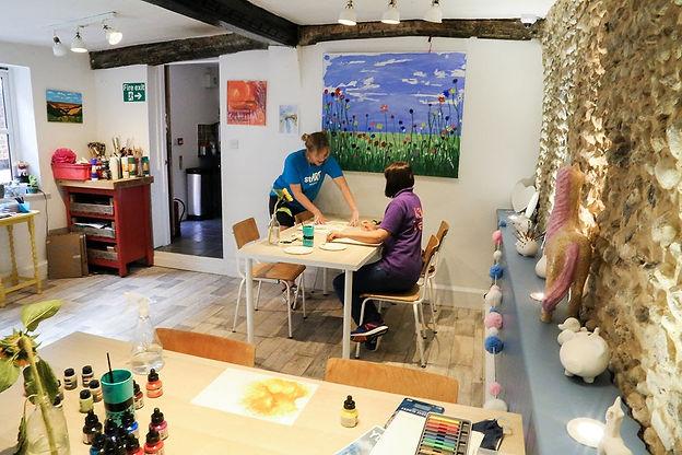 Art classes Norfolk