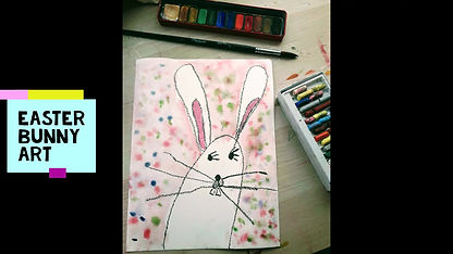 A watercolour rabbit to try