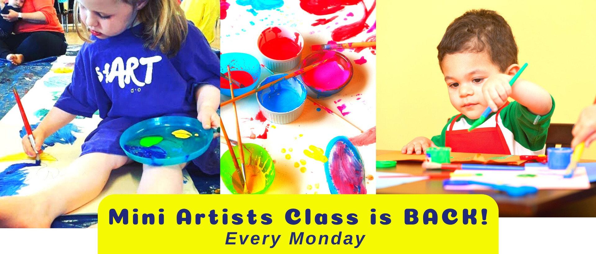 Mini Artist class
