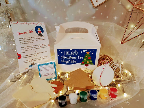 Christmas Eve Craft Box