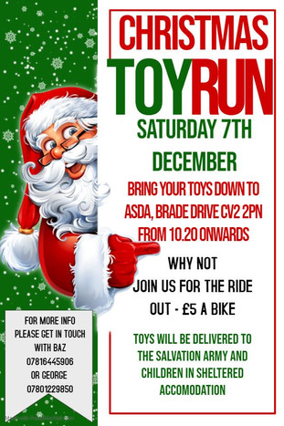 Christmas Toy Run 2019