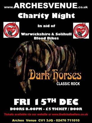 Dark Horses Support Gig