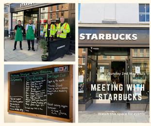 Starbucks and WSBB