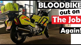 On Duty with the Bloodbikes