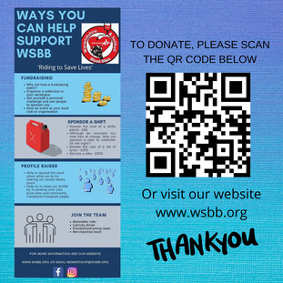 WAYS TO HELP SUPPORT WSBB
