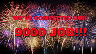 9000 Jobs completed!!!