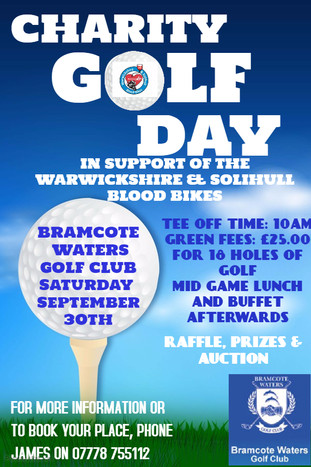 Annual Charity Golf Day 2017