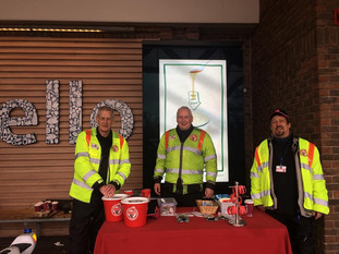 Tesco Rugby Donates