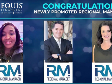 Congratulations to Our Two New Regional Managers!