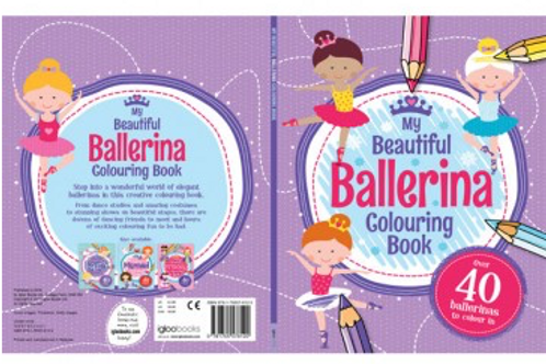 Beautiful Ballerina Colouring Book