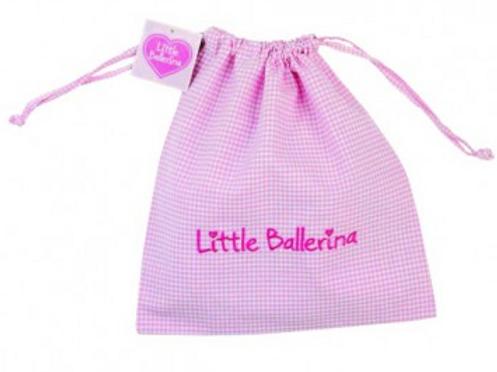 Little Ballerina Drawstring Bag