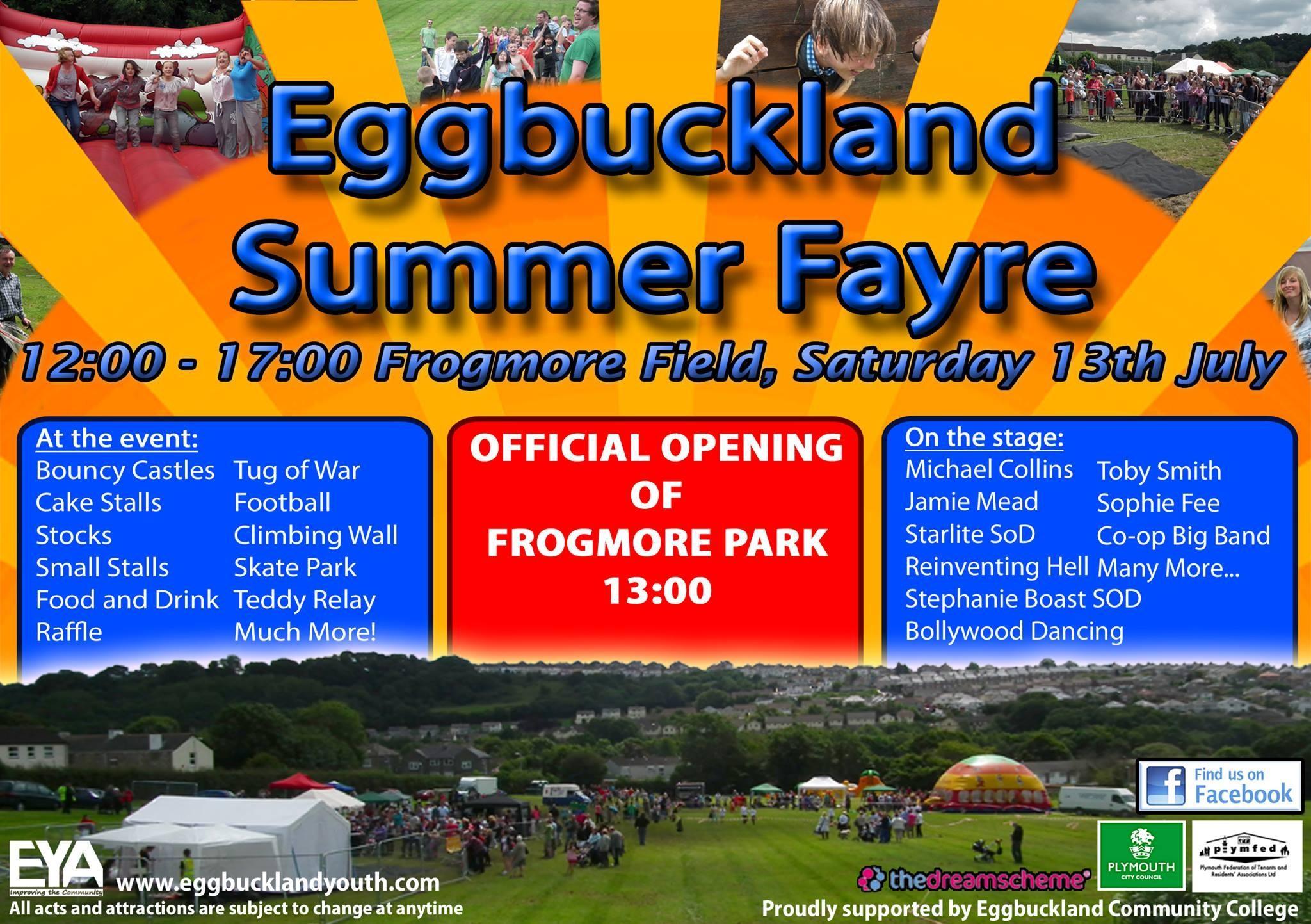 Eggbuckland Summer Fayre