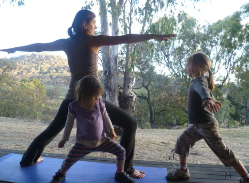 Kids yoga and vinyasa yoga-the power and passion of story telling