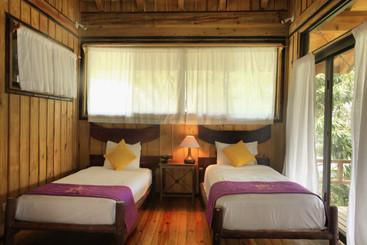 2 Single Beds- second floor