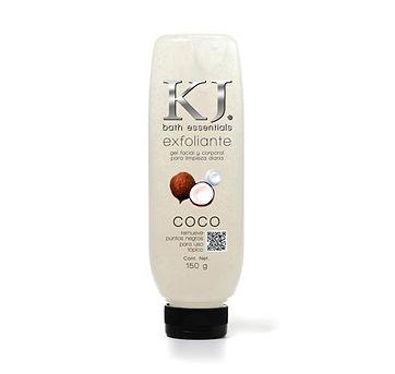 Bath essentials  Exfoliante facial y corporal  Gel de limpieza diaria Coco