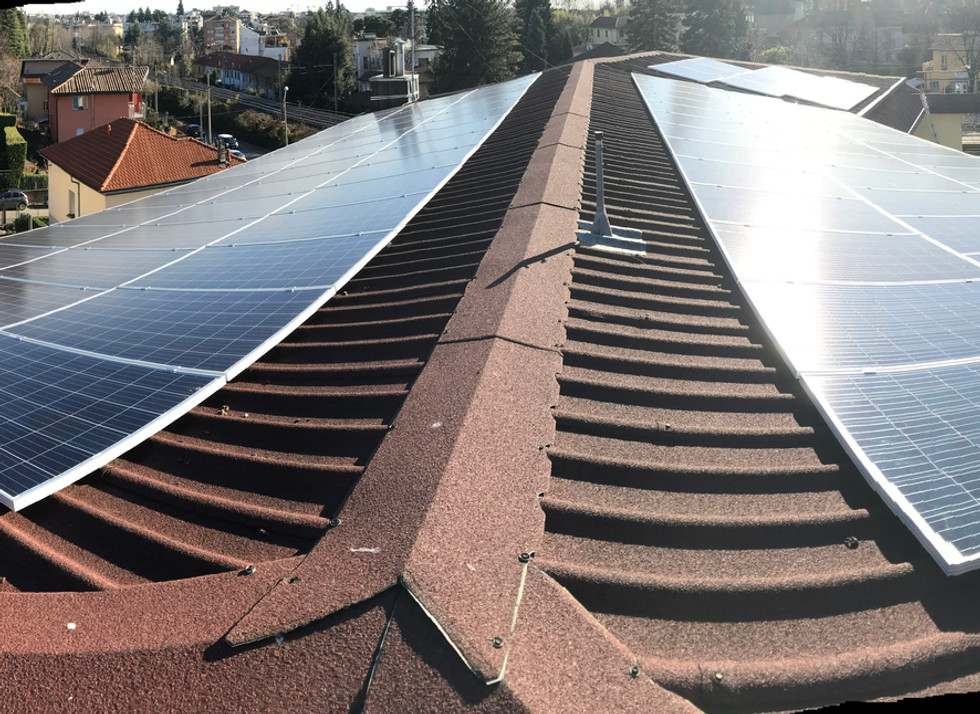 Impianto fotovoltaico da 35 Kwp