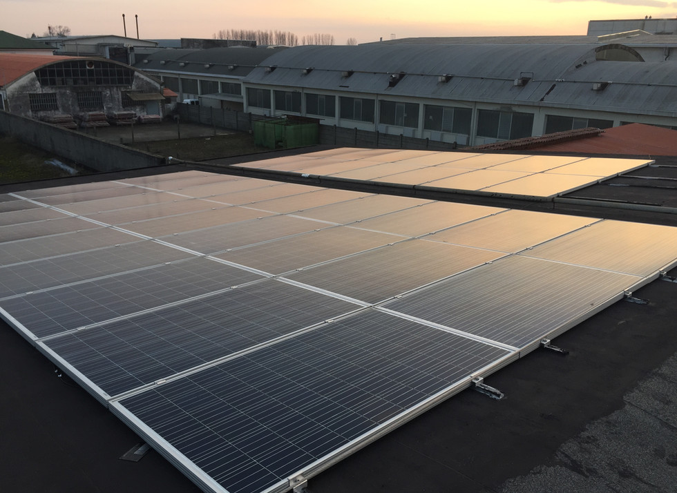 Impianto fotovoltaico da 100 Kwp