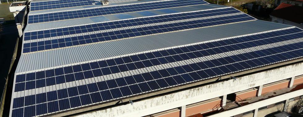 Rimozione amianto + fotovoltaico da 120 Kwp