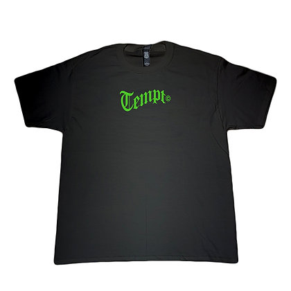 Old English Tee (Black)(M)