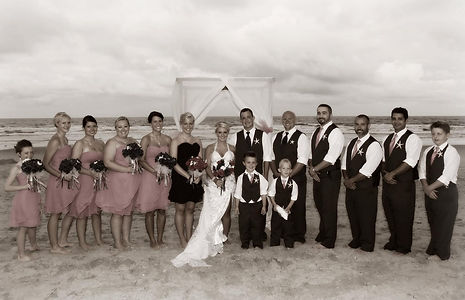 Oak Island Beach Weddings