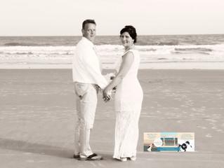 Teresa & Billy, a beautiful April wedding on the beach!