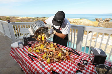 Receptions Cape Fear Low Country Boil