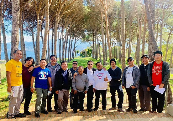 Ongoing Formation Pilgrimage of the Wildmen Age-Group of the St. Matthew Province