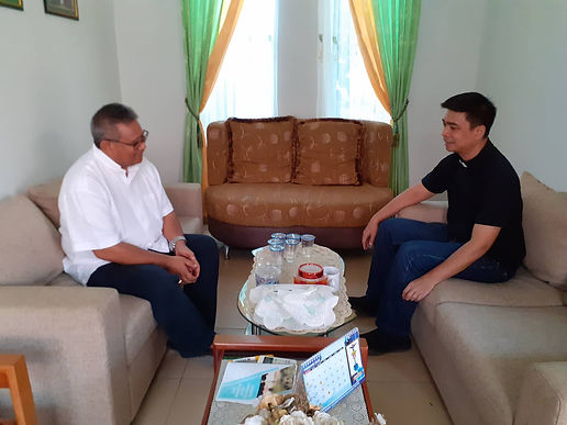 Canonical Visit to the Missionary Station of Indonesia
