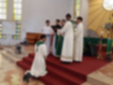 Mission Send Off of Fr. Fr. Welbert Llyd Suarez to Papua New Guinea