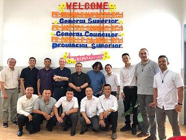 Superior General visits Vietnam