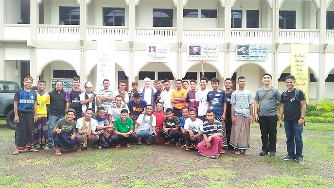Official Visit to Indonesian Mission Station