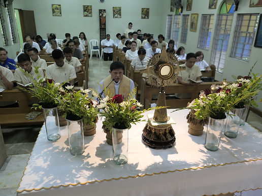 Feast of July the First and Acceptance of new Postulants