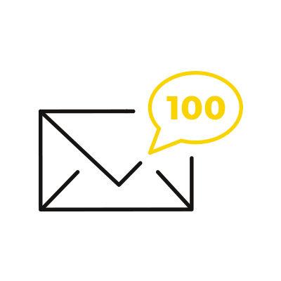 SPOKR (Pack de 100 e-mails)