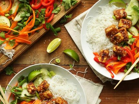 Build Your Own Thai Noodle Bowl