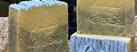 Garden Scrub Soap Bar