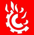 Class D (Flammable Metals) Symbol - Smal