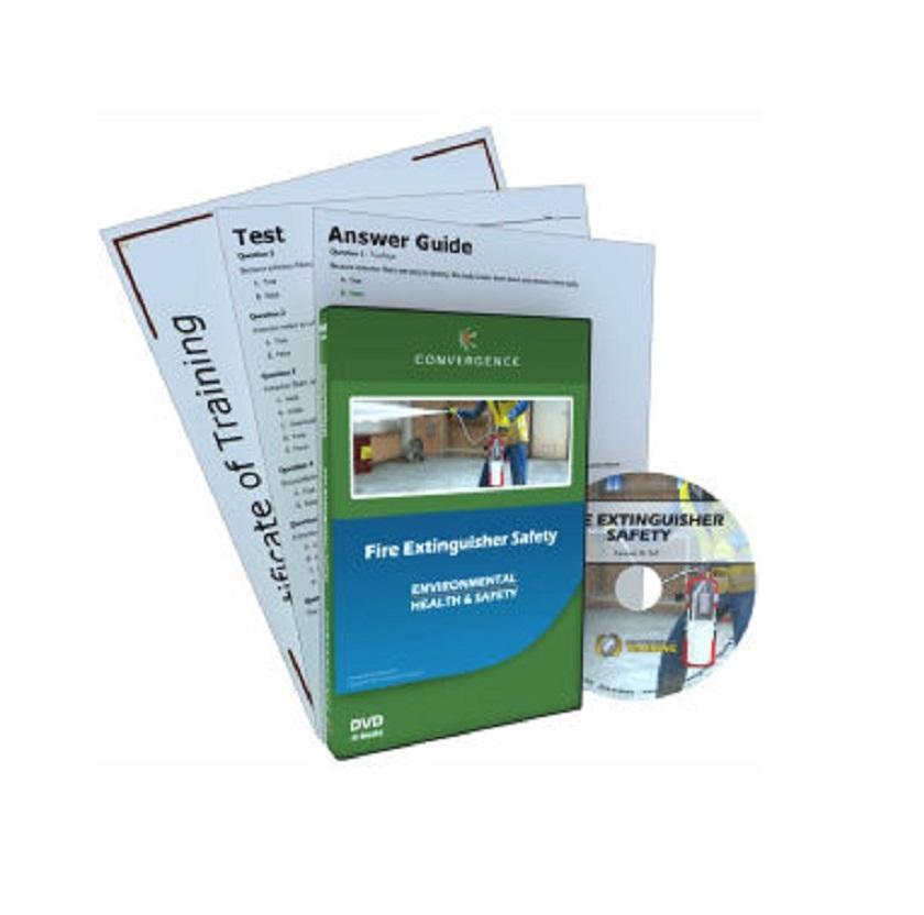 Fire Extinguisher Safety, DVD_LOG_127
